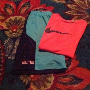 Nike Elite Shirts and Shirt